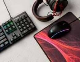Full Gear HYPER X mouse , keyboard and hea...