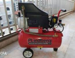 Air compressor 24 liters like new كمبرسير ...