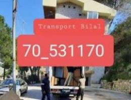 نقليات بلال: نقل في كل لبنان