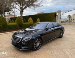 Mercedes S 500 year 2018 .mint condition