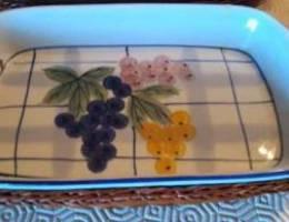 Set of 3 serving platters