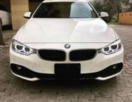 BMW Gran Coupe 428i 2015 sport package whi...