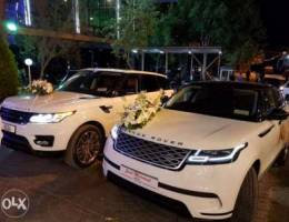 Wedding cars available (with driver )