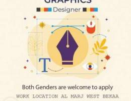 مطلوب Graphic Designer