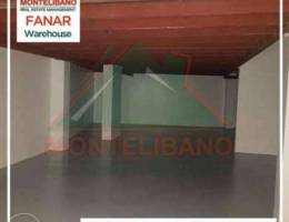 Spacious warehouse in Fanar for sale!!