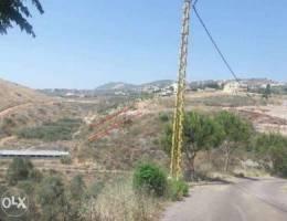 ارض في جرجوع, النبطية, قرب عربصاليم 1100 م...