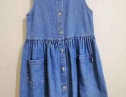 فستان جينز بناتي