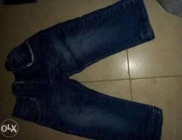 جينز مرتب بلبس من سنة لسنتين جواتو مغيط بي...