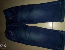 جينز من عمر سنتين الى ثللث سنين