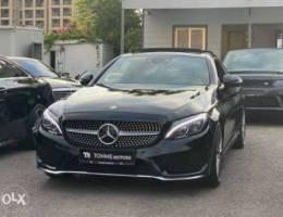 Mercedes C200 Coupe AMG-LINE 2017, GERMAN,...
