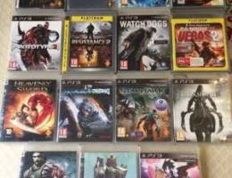 31 games for ps3 (All for 850.000)