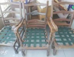 3 morris chairs