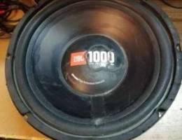 2 sub Wofer Jbl 1000 w 4 ohm made in USA