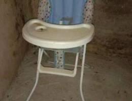 كرسي اكل لطفل فقط بي200الف