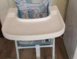 كرسي اكل للاطفال
