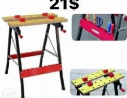 adjustable wooden worktable