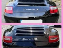 Porsche 997.1 to 997.2 conversion tailligh...
