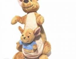 Disney original kangourou+mini roo 40cm