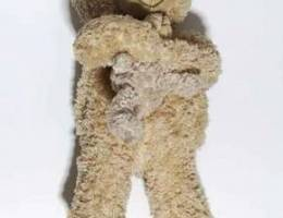 Bear plysh with mini bear 35cm