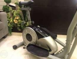 Matrix Elliptical and bike cardio machine