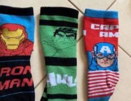 Marvels Set of 3 Winter Thick Socks 3-4 Ye...