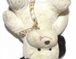 Dog plush white 60cm