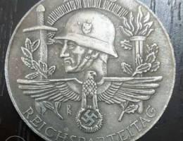ميدالية نازية تذكارية ١٩٤٠ حجم كبير ٥٠ م.م