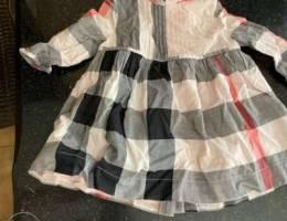 burberry original dress and tshirt for bab...