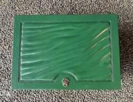 rolex box original